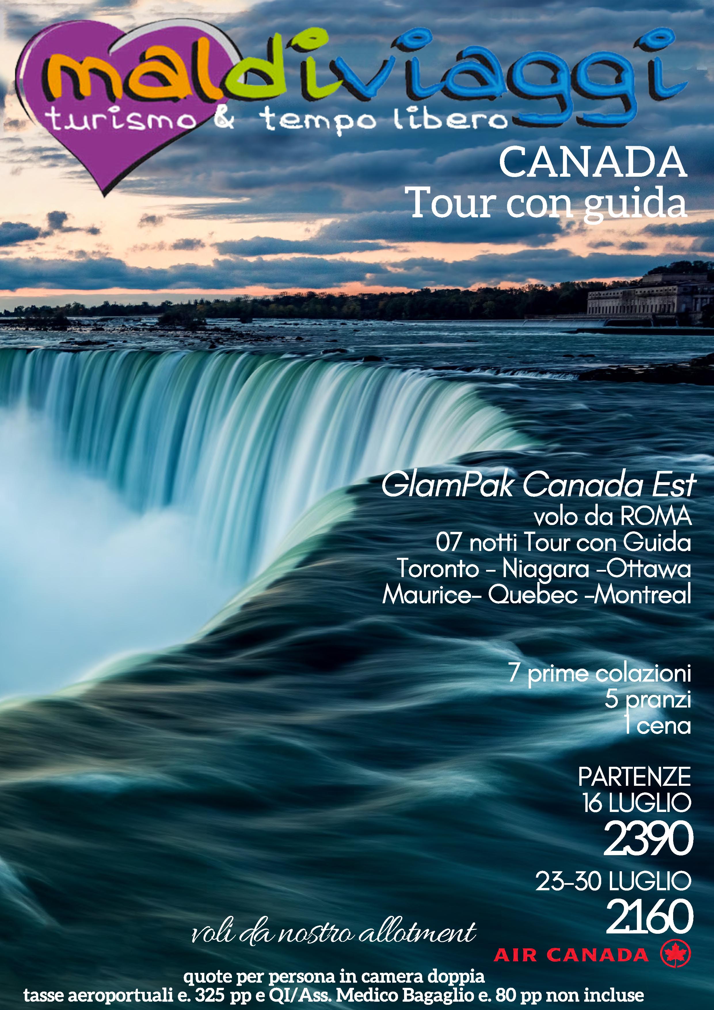 Canada Tour con Guida