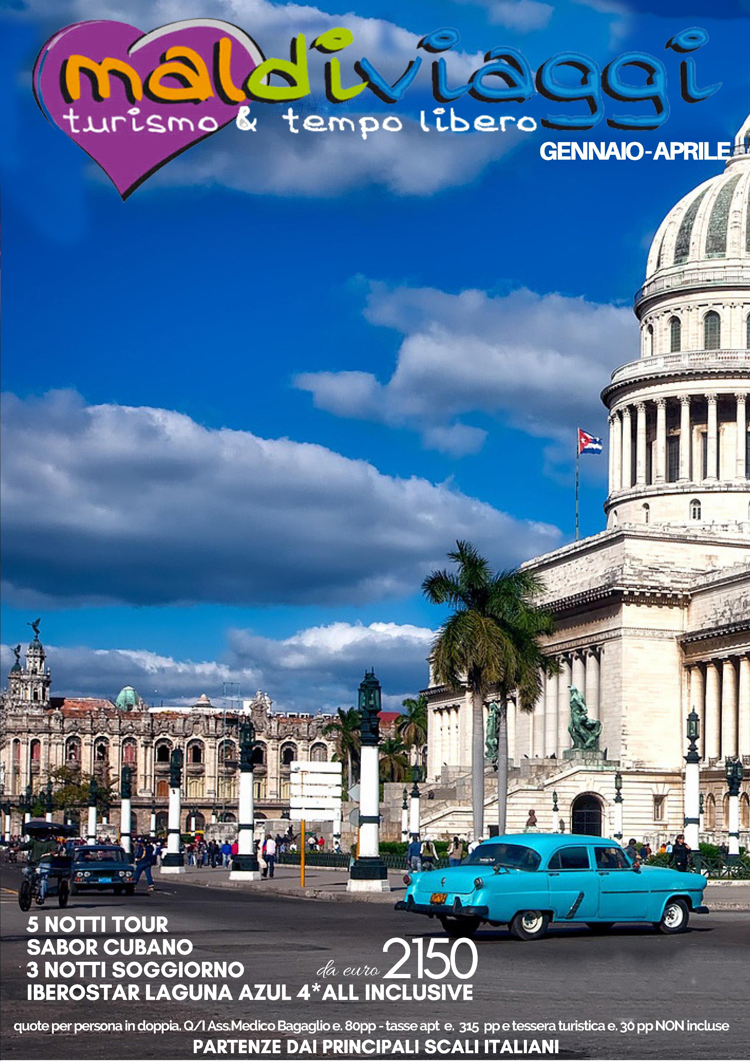 Cuba - Gennaio/Aprile