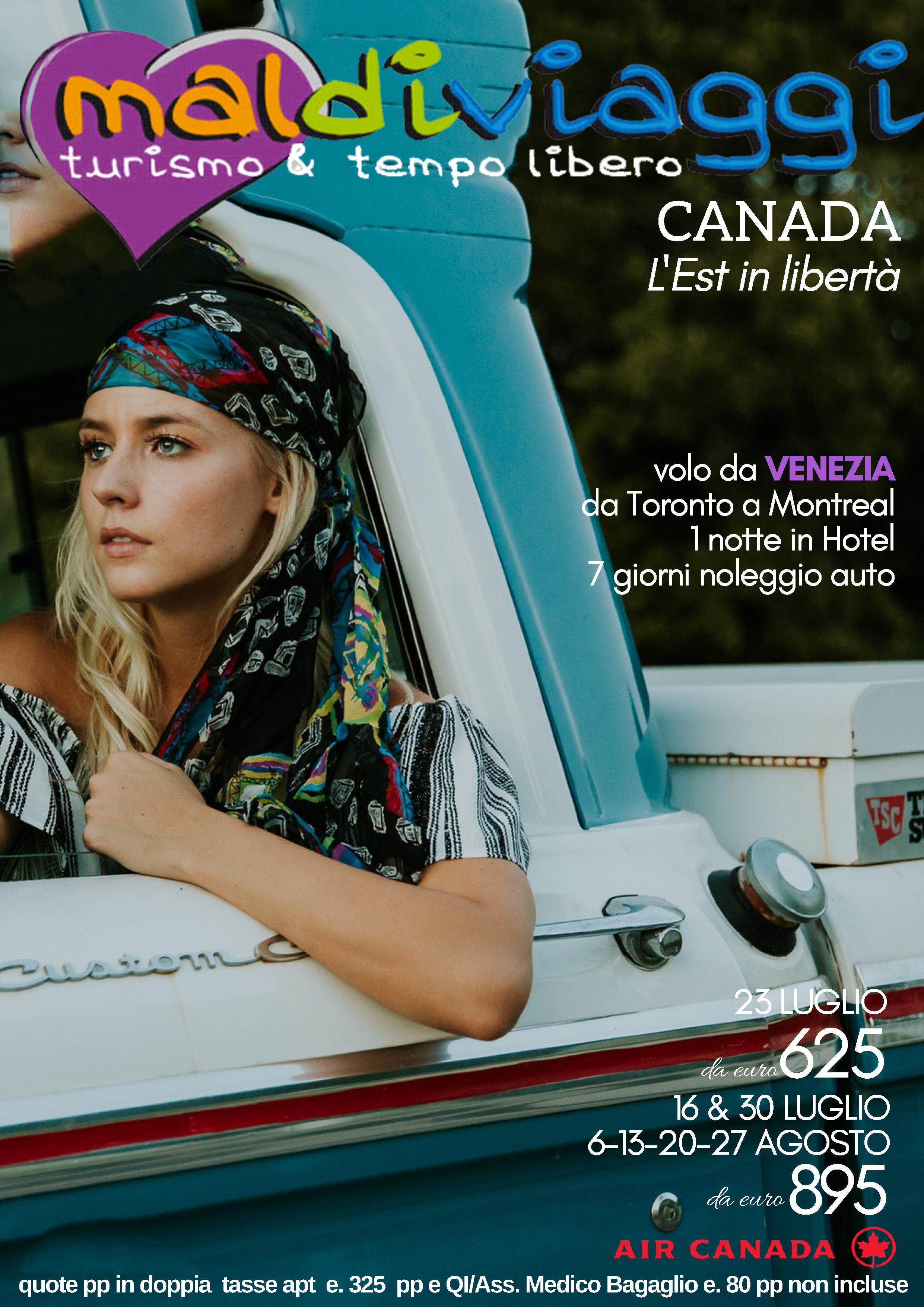 CANADA - L'est in tutta libertà