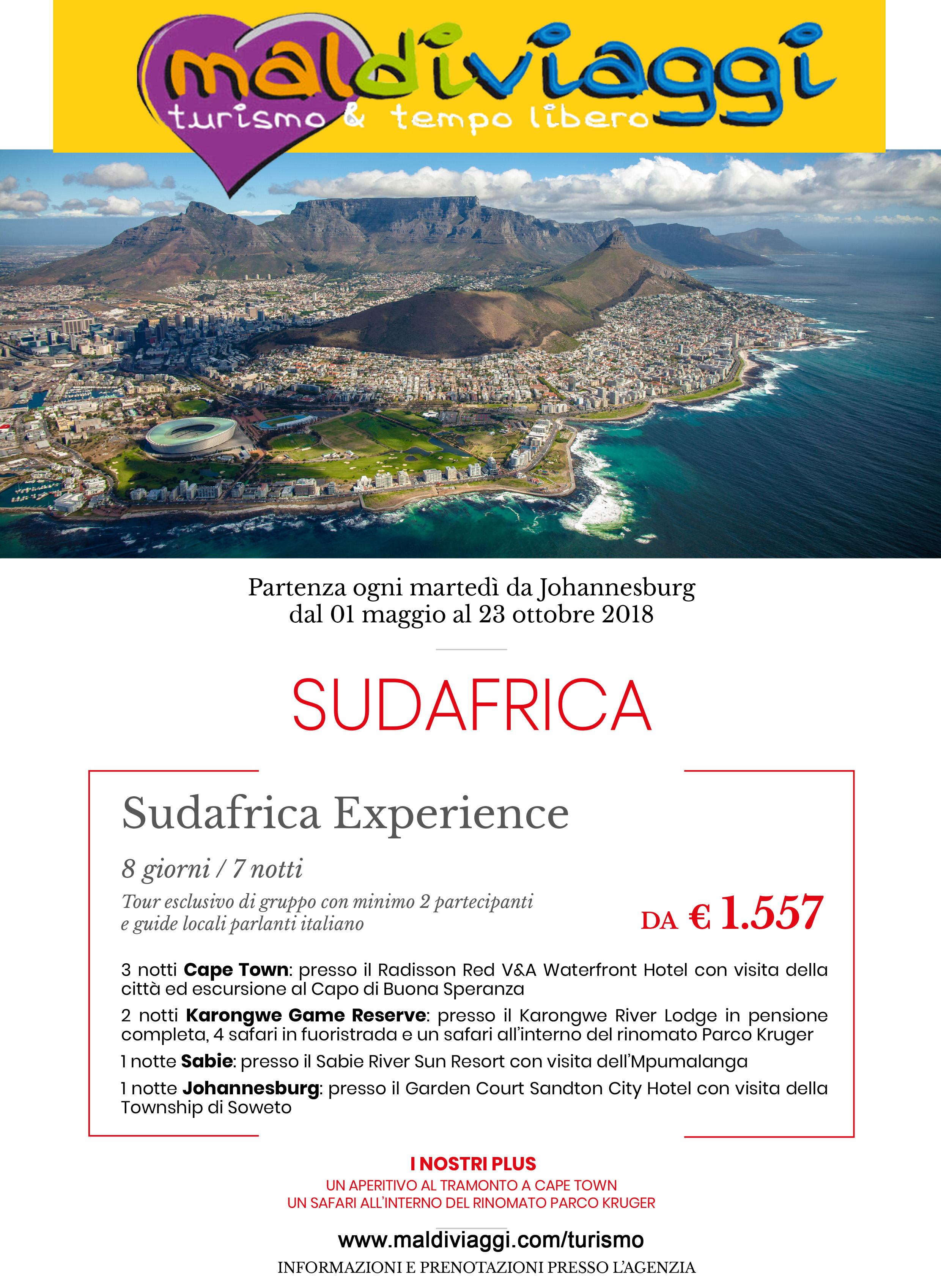 Sudafrica experience