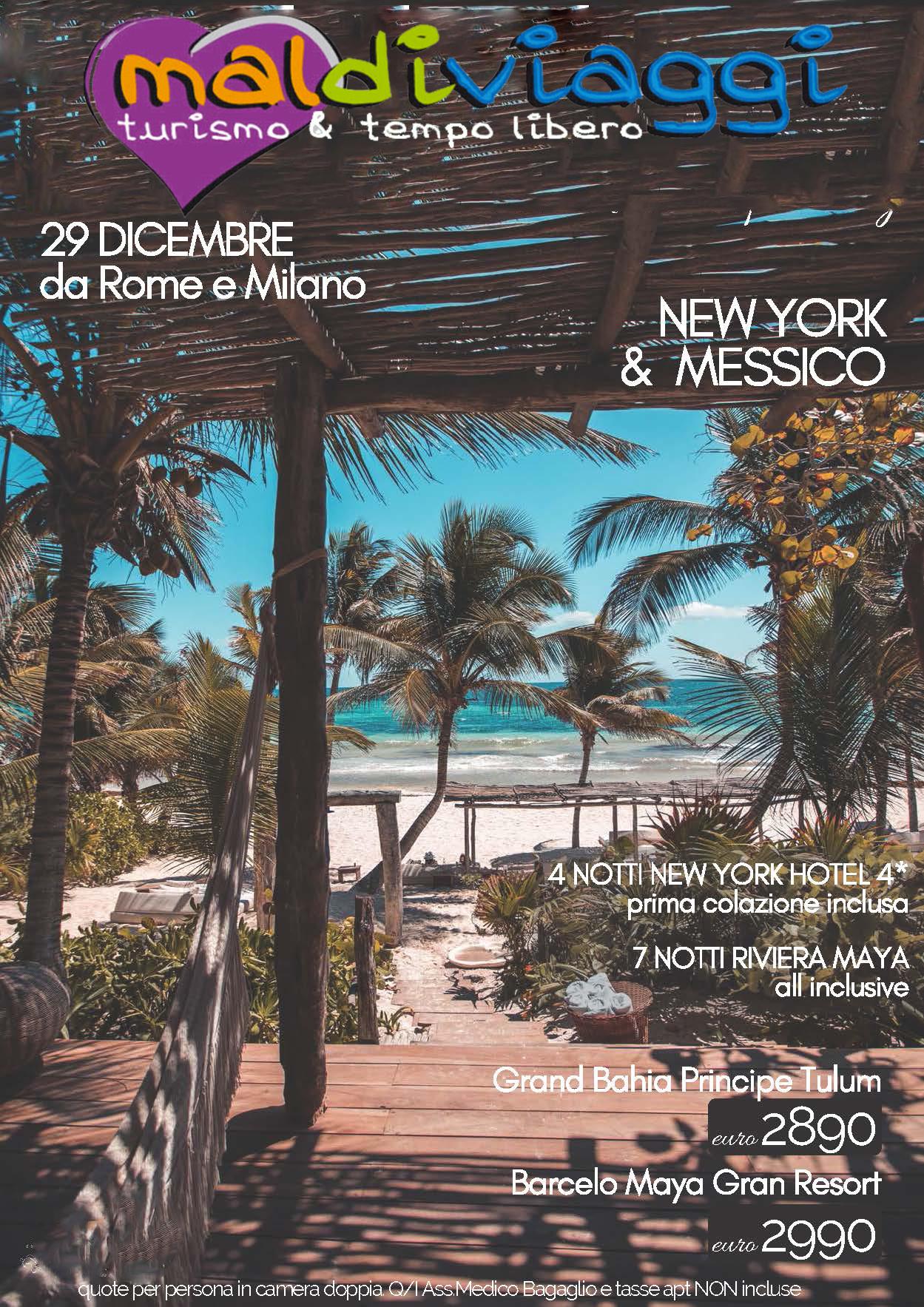 Capodanno tra NY e Messico
